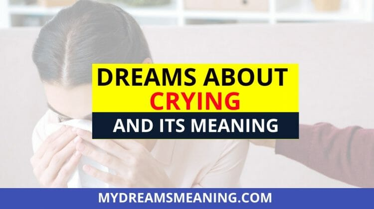 Dream About Crying Crying Dream Meaning